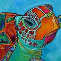 Seaglass Sea Turtle by Patti Schermerhorn
