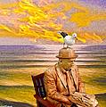 Seagull Man 6 by Algirdas Lukas