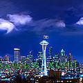 Seahawks Xlviii by Lori Grimmett
