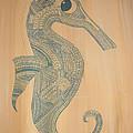 Seahorse by Olga Zsuzsanna Petrovits
