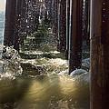 Seal Beach Pier Surf by Heidi Smith