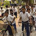 Seam Reap School Children   #2646 by J L Woody Wooden