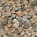 Seamless Background Gravel Stones by Henrik Lehnerer