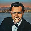 Sean Connery As James Bond by Paul Meijering