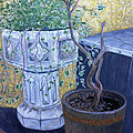 Sean's Planter by Brenda Brown