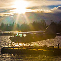 Seaplane Sunset by Charlie Duncan
