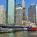 Seaport Harbor Nyc by Zbigniew Krol