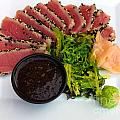 Seared Tuna With Ginger by Thomas Marchessault
