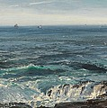 Seascape 1877 by Henry Moore