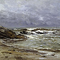 Seascape by Carlos de Haes