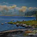 Seascape From Hamina 2 by Raija Merila