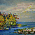 Seascape From Hamina 3 by Raija Merila