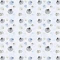 Seashell Pattern by Christina Rollo