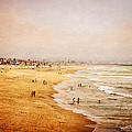 Seashore At Manhattan Beach by Eleanor Abramson
