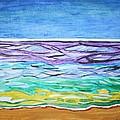 Seashore Blue Sky by Stormm Bradshaw