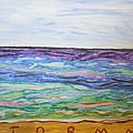 Sunny Seashore  by Stormm Bradshaw