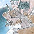 Seaside Castle by Shawn Vincelette