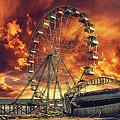 Seaside Ferris Wheel by Kim Zier
