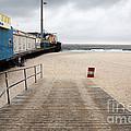 Seaside Heights Beach by John Rizzuto