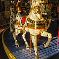Seaside Heights Casino Pier Carousel  by Susan Candelario