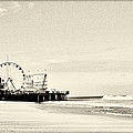 Seaside Heights Funtown Pier Vintage  by Terry DeLuco
