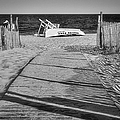 Seaside Park New Jersey Shore Bw by Susan Candelario