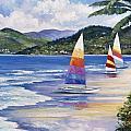 Seaside Sails by John Zaccheo