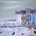 Seaside Seagulls by Trudy Kepke