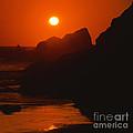 Seaside Sunset by Paul Davenport