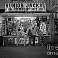 Seaside Union Jacks by David Riccardi