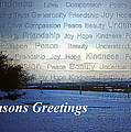 Seasons Greetings Wishes by Belinda Greb