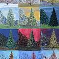 Seasons Of A Dawn Redwood - Sold by Judith Espinoza