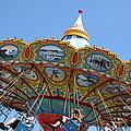 Seaswings At Santa Cruz Beach Boardwalk California 5d23907 by Wingsdomain Art and Photography