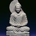 Seated Buddha by Pakistani School