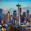 Seattle Afternoon by Inge Johnsson