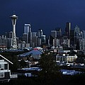 Seattle Blues by Benjamin Yeager
