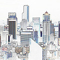 Seattle City Original Work by David Lee Thompson