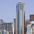 Seattle Cityscape by Brenda Kean