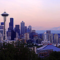 Seattle Dawning by Chad Dutson