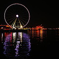 Seattle Ferris Wheel  by Jeff Swan