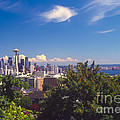 Seattle From Queen Anne Hill by Bob Phillips