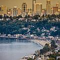 Seattle From The Air by Mike Penney