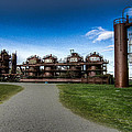 Seattle Gas Light Company Gasification Towers by Puget  Exposure