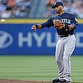 Seattle Mariners V Atlanta Braves by Mike Zarrilli