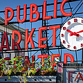 Seattle Market  by Brian Jannsen
