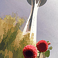 Seattle Needle One by Alice Gipson