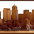 Seattle Panorama by Barbara Henry