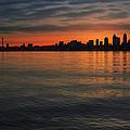 Seattle Skyline At Dawn by Jit Lim
