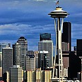 Seattle Skyline by Benjamin Yeager