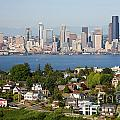 Seattle Skyline by Bill Cobb